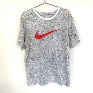 🔥Nike Tee Speckled Swoosh XL Retro Shirt Jordan